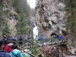 Photo of   Johnston canyon falls