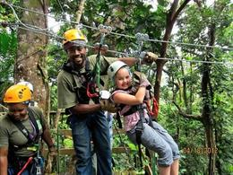Photo of St Lucia St Lucia Aerial Tram and Zipline Canopy Tour Kids