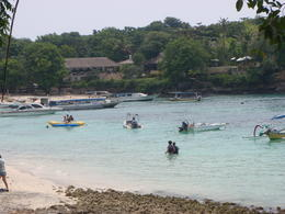 Many water activities are available at the island such as banana boat rides, snorkelling, parasailing, etc. , Jenny G - February 2011