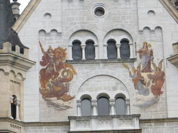 Photo of Munich Royal Castles of Neuschwanstein and Linderhof Day Tour from Munich murial on the castle wall