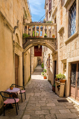 Photo of Dubrovnik Island of Korcula with Wine Tasting Day Trip from Dubrovnik narrow alleys of Korcula