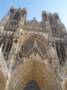 Notre-Dame de Reims (Our Lady of Rheims) is the Roman Catholic cathedral of Reims, where the kings of France were once crowned. It celebrated its 800 year anniversary in 2011 , Brex-Anna - October 2012