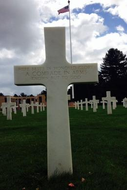 American Cemetery at Omaha Beach , Timothy B - July 2014