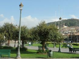 One of the three main squares in Cusco., Bandit - December 2010