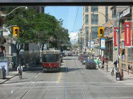 Toronto street - Taken from the open-top double decker bus - July 2009, ATHANASIOS M - July 2009