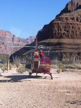 Photo of Las Vegas Grand Canyon All American Helicopter Tour viator 3