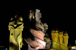 Photo of Barcelona Gaudí's La Pedrera at Night: A Behind-Closed-Doors Tour in Barcelona View from the roof of La Pedrera