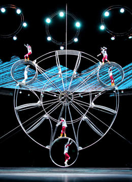 Photo of Shanghai Shanghai Circus World: ERA Intersection of Time Acrobatics Show Wheel of life.jpg
