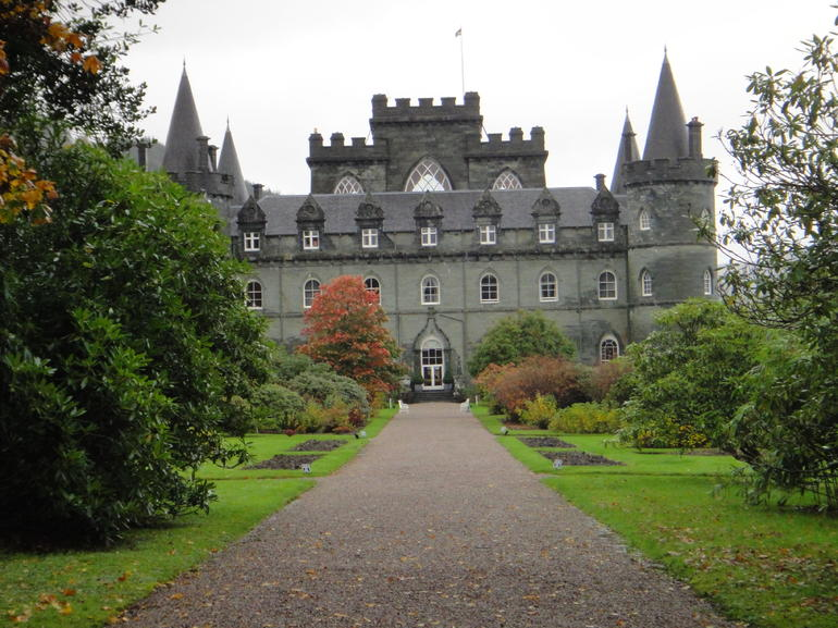 Castle at Inveraray - Edinburgh