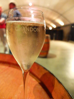 Private Wine Tasting at Domaine Chandon Cellar , Puy Hiang S - January 2014