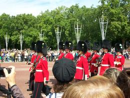 Very impressive to see the guards marching - August 2010