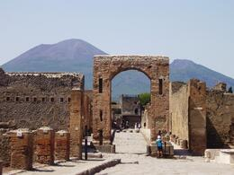 Cool old arch in the ruins at Pompeii, August 2008., Erika H - August 2008