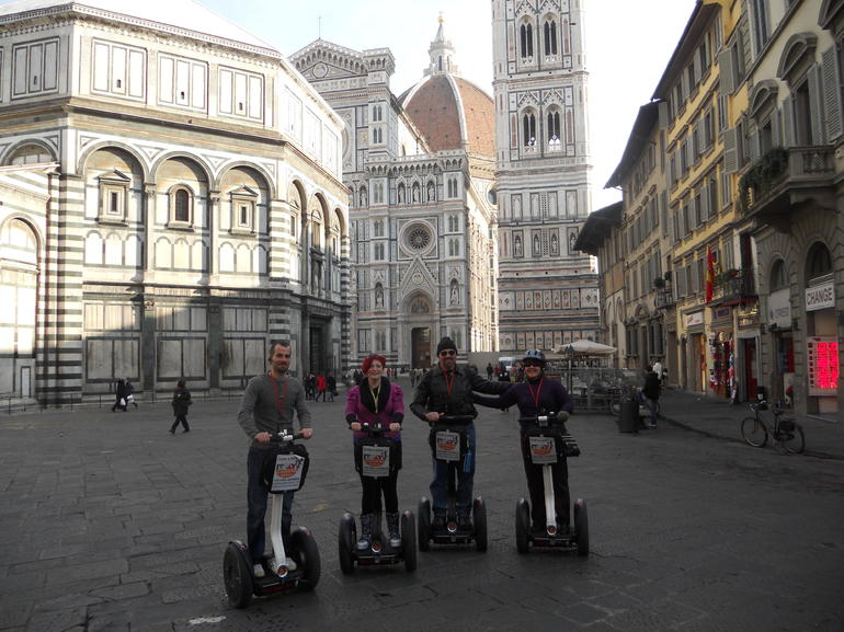Florence Segway Tour November 28th 2011 - Florence