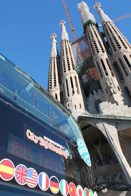 Photo of Barcelona Barcelona Hop-on Hop Off Tour: North to South Route Hij bracht ons naar alle bezienswaardigheden.
