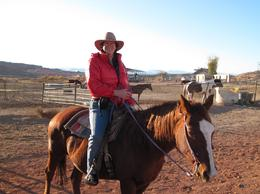 Photo of Las Vegas Wild West Sunset Horseback Ride with Dinner My mount,  and quot;Julie and quot;