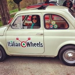 Photo of Florence Self-Drive Vintage Fiat 500 Tour from Florence: Tuscan Hills and Italian Cuisine My turn!
