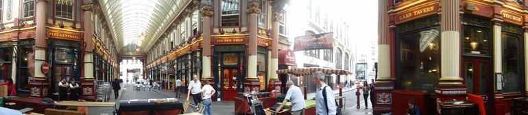 Panoramic Diagon - London