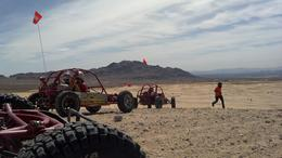 Photo of Las Vegas Mini Baja Buggy Half-Day Tour from Las Vegas Riding on the Las Vegas dunes