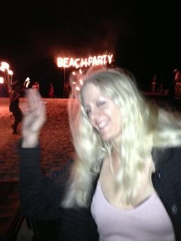 Anita at the Beach Party at Secrets in Punta Cana , Anita D - December 2014