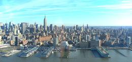 Photo of New York City New York Helicopter Flight: Grand Island skyline new york from helicopter