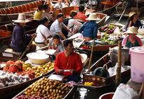 Photo of Bangkok Floating Markets of Damnoen Saduak Cruise Day Trip from Bangkok