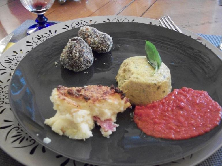 Some of the finished product...yum! - Rome