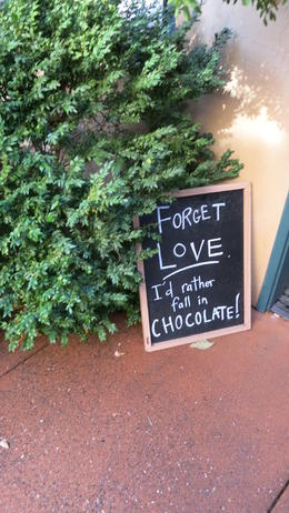 Free chocolate tasting. Be sure to try the chocolate at Cline along with the late harvest wine. , Ralph T - November 2014