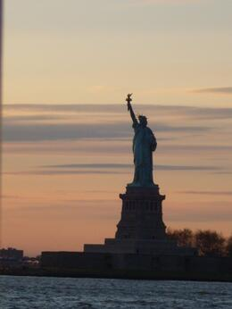 Photo of null New York in One Day Sightseeing Tour Statue of Liberty at sunset