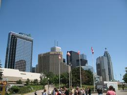 Toronto High Buildings - Outside CN Tower - July 2009, ATHANASIOS M - July 2009