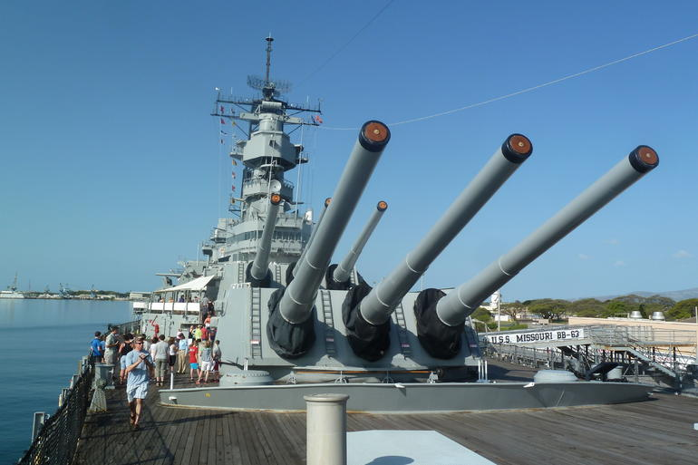USS Missouri, Pearl Harbour - Oahu