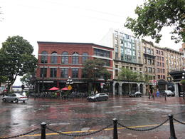 Photo of   Vancouver's Gastown