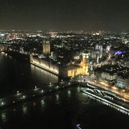 View from London Eye , Elena K - February 2016