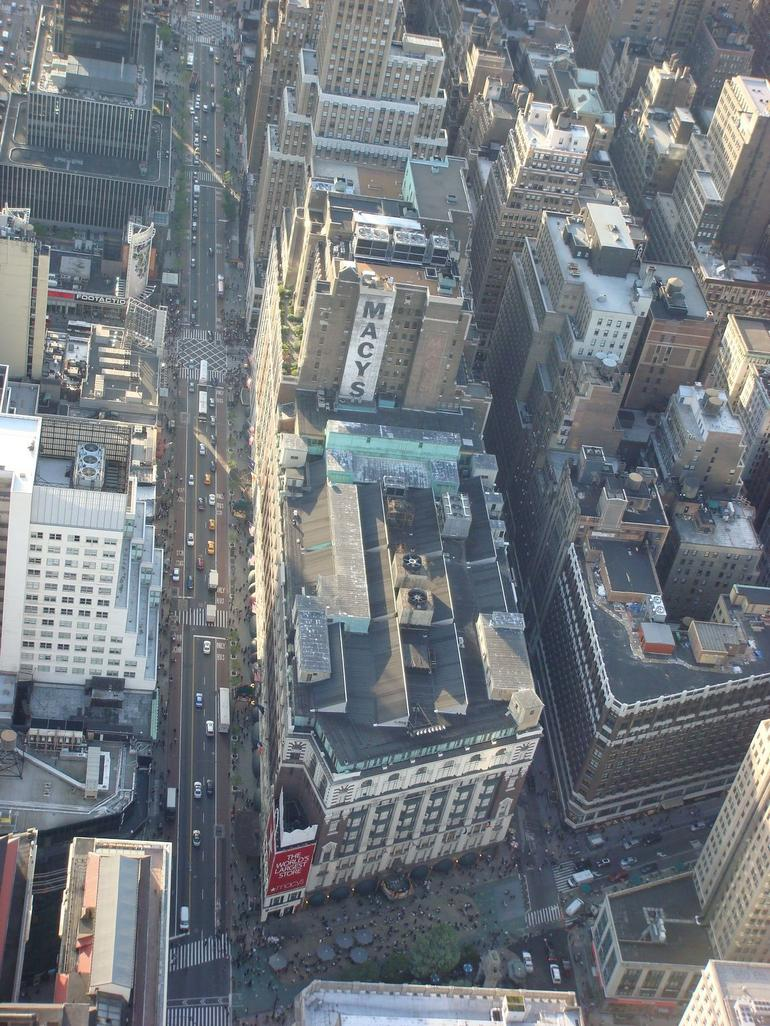 view from the top - New York City