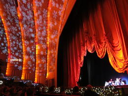 Photo of New York City Radio City Music Hall Christmas Spectacular View of the Stage