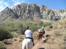 Photo of Las Vegas Morning Maverick Horseback Ride with Breakfast We just don't have this scenery in the UK!