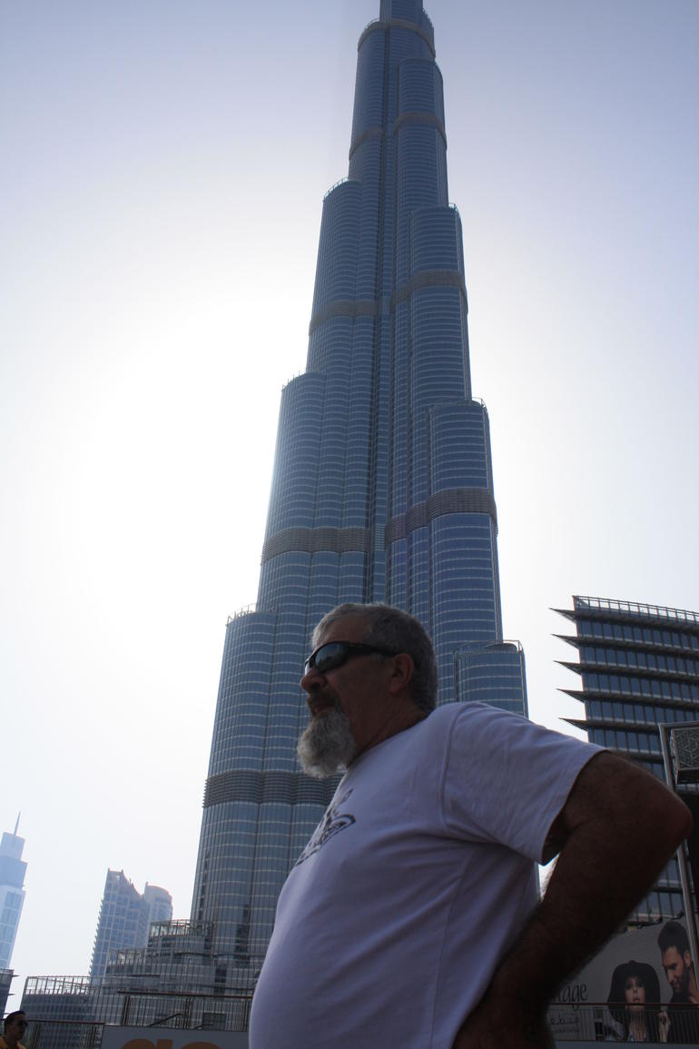 Wow, tallest building - Barcelona