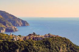 View from Hiking trail. Corniglia to Vernazza. , Nitipon S - November 2015