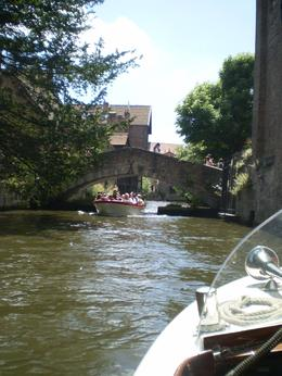 View of the canal from the boat at Bruges - a magical day., Charles T - July 2010