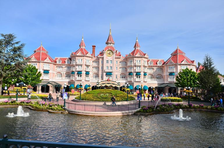 Disneyland Entrance - Paris