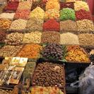 Photo of Barcelona Barcelona Gourmet Food and La Boqueria Market Walking Tour Dried fruit stall at Boqueria market
