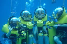 We loved the experience a must do even if you can't swim. , Julie K - March 2014