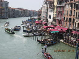 View from Rialto Bridge , Christine P - May 2011