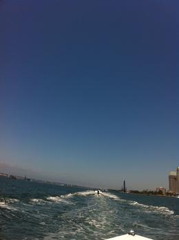 Photo of San Diego San Diego Harbor Speed Boat Adventure In the wake of our guide...