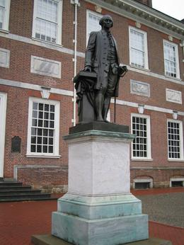This is the statue of Thomas Jefferson, Angela S - April 2009