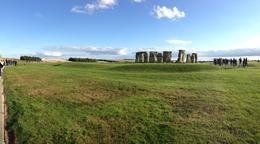 Right before we left I took this panorama photo of Stonehenge. , Work - October 2014