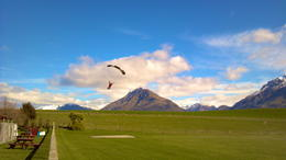 Skydiving in Queenstown!, Dusty Middleton - September 2012
