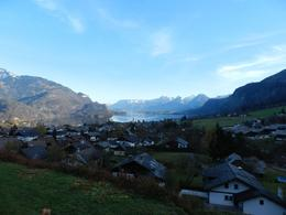 One of the glorious views over Lake Wolfgang , Neil H - December 2012