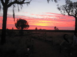 Photo of Ayers Rock Sounds of Silence Restaurant Sunset