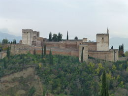 Photo of   the alhambra from the albicin quarter