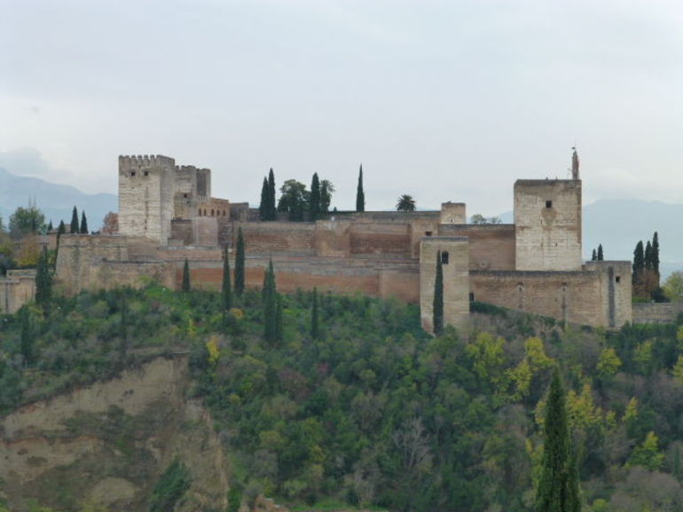 the alhambra from the albicin quarter